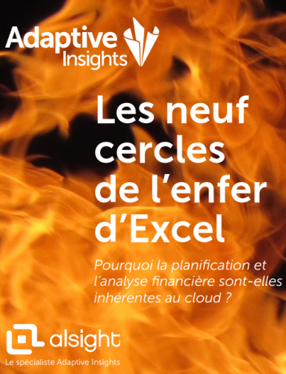 Cercles d'excel - adaptive insights